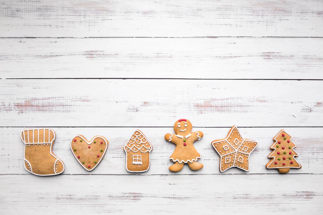 christmas, cookies, food, background, holiday, cake, decoration, white, xmas, shape, sugar, dessert, tree, homemade, cooking, celebration, blue, card, wooden, merry, cutter, bake, kitchen, view, top, wood, traditional, isolated, sweet, ornament, gingerbread, winter, composition, bakery, festive, decorated, biscuit, concept, space, season, flour, candy, green, red, santa, 2018, fir tree